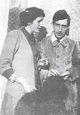 Leonard y Virginia Woolf en Asheham House